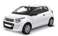 Citroen C1 (via Tuo Rent)
